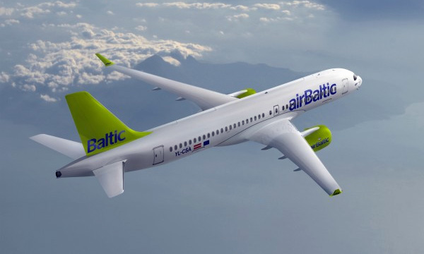 Bombardier reveals airBaltic as CS300 aircraft's first operator