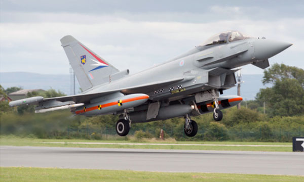 Eurofighter Typhoon strengthens capability in service