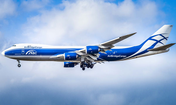 AirBridgeCargo airlines celebrate delivery of two 747-8 Freighters