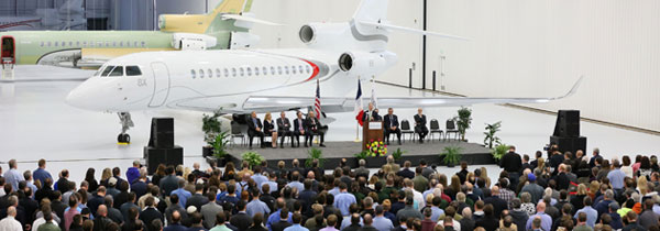 Dassault Falcon Jet completes New Little Rock expansion