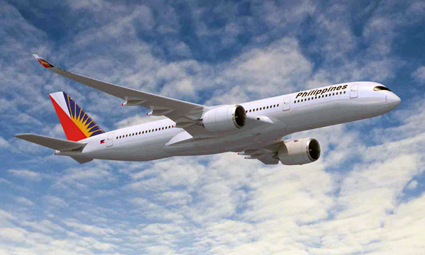 Philippine Airlines selects the A350 XWB for future long haul fleet