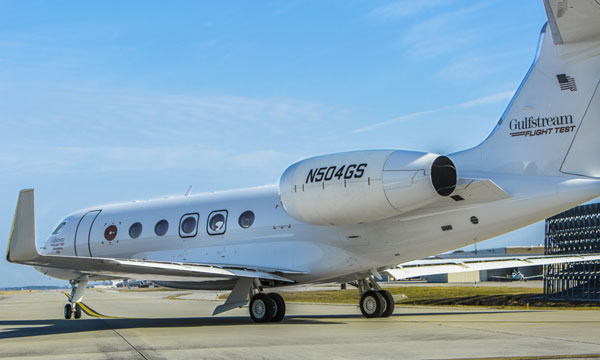Fourth Gulfstream G500 test aircraft completes first flight