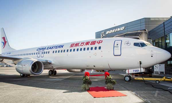 CDB Leasing Celebrate Delivery of First Next-Generation 737