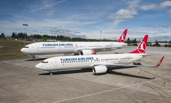 Boeing set to deliver record number of airplanes to Turkish Airlines