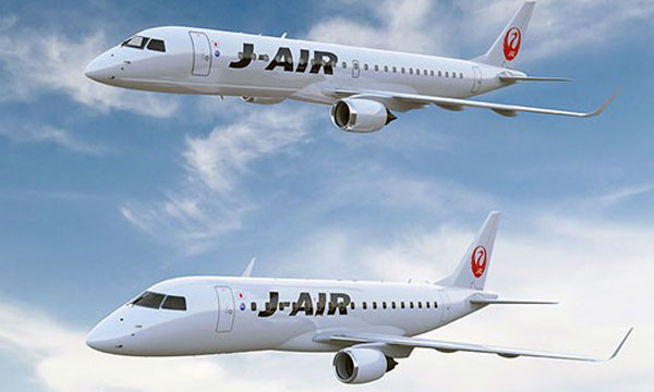 E190 makes Japan debut with Japan Airlines subsidiary J-AIR