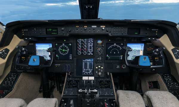 Gulfstream GIV-SP aircraft with planedeck receive faa approval for synthetic vision installation