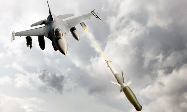 U.S. Air Force Deploys APKWS Laser-Guided Rockets on F-16s