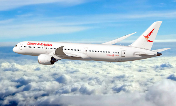 Ruili airlines finalize order for six 787-9 Dreamliners