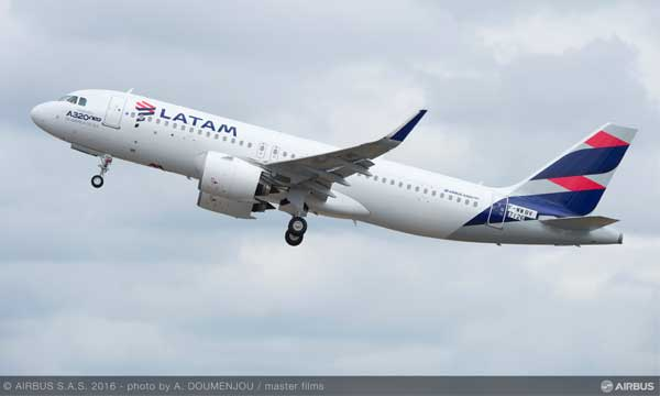 A320neo now operating in three continents
